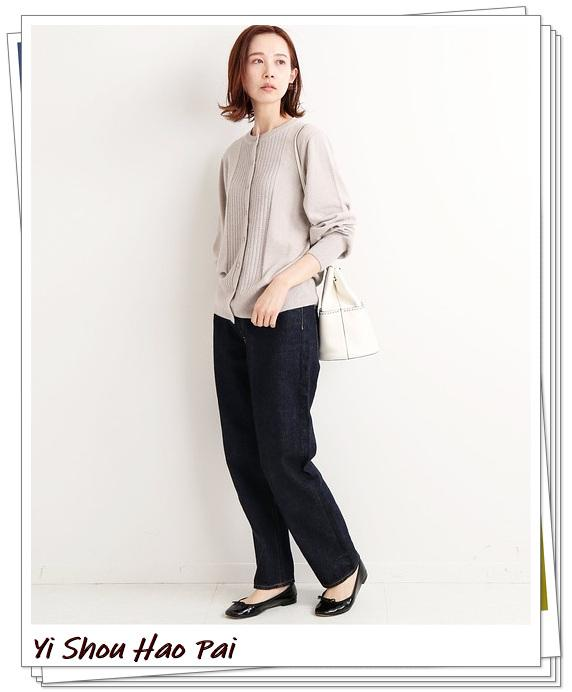 米色开衫的秋季搭配精选!24种你值得尝试的优雅穿搭-第10张