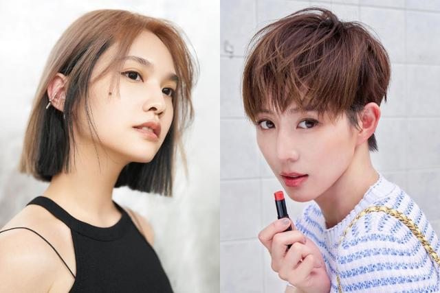Rainie Yang Ariel Lin And Janine Zhang Have All Cut These 2 Short Haircuts That The Goddesses Are Rushing To Cut Luju Bar