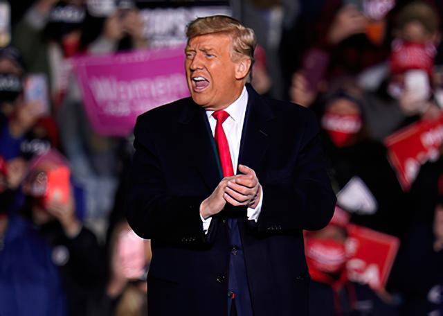 大选结果还没出,白宫门口已经发生示威游行,反对特朗普连任 全球新闻风头榜 第2张