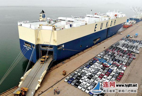 连云港:港口优化车辆出口绿色通道