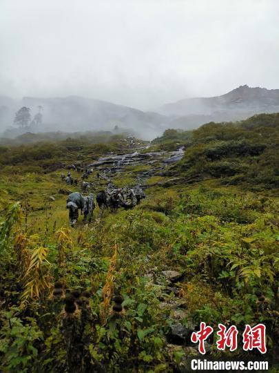 """7天6夜的""""生死巡逻路""""西藏军区某旅完成高原无人区既定任务-第1张"""