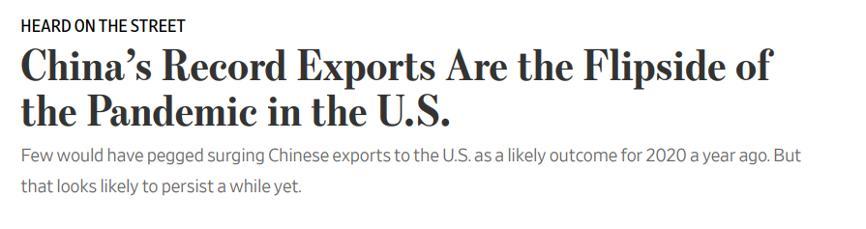美媒:18个月前,几乎没人会预料到中国现在的表现