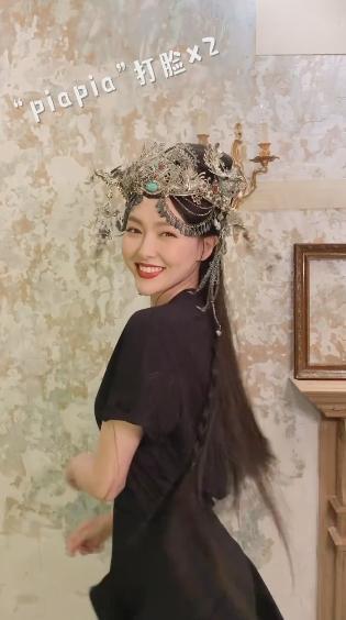 唐嫣四年后再演大女主!红衣皇后造型太霸气,产后火速瘦身太惊艳-第9张