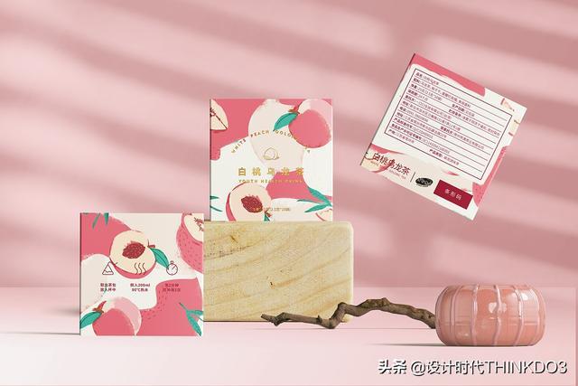 两款清新时尚风格的花茶包装设计,简直不要太美(图5)