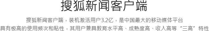 搜狐广告收费标准,搜狐广告投放价格
