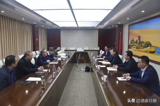 吴yang东会见中石油甘肃销售gong司党委书记贾hongwu