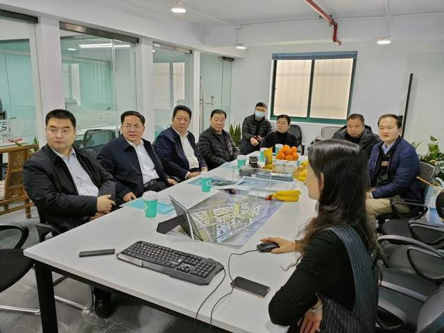Party and government leaders from Shandong Heze visited Shanghai Hi-Dolphin Technology and personall