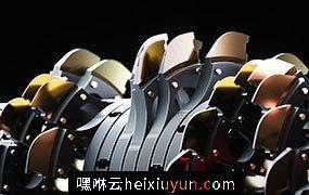 [11-12-17] – Blades刀片工具C4D动画工程文件分享