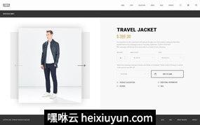 简约时尚服装类电子商务购物网站PSD网页模板Better Shop Ecommerce 09