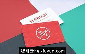 高端名片特写样机模板 Close-up Business Cards Mockup v.1