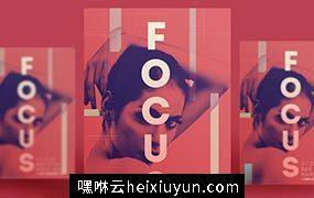 人物抽象艺术海报PSD素材模板Figure Abstract Art Poster#061502_19