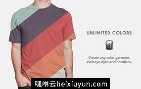 男士T恤贴图展示样机模版 T-Shirt – Apparel Mockups #295790