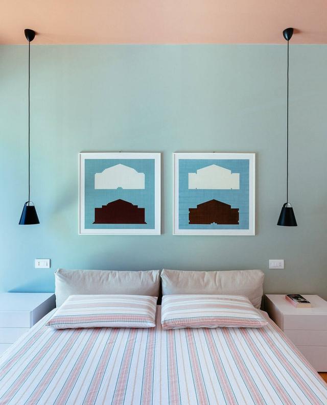 渲染一抹轻甜霓虹气息!意大利 45 坪缤纷公寓翻新