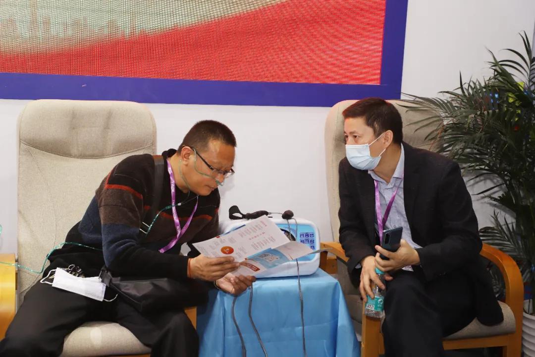 氢学大美·福耀中华 一一氢医学产品首次亮相CMEF2020全球医疗年度盛会(图5)