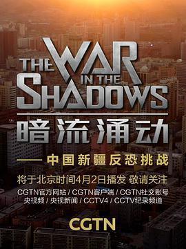 暗流涌动——中国新疆反恐挑战海报
