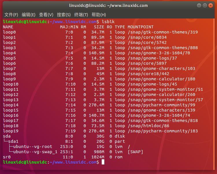 在Linux中查看分区表的4种方法