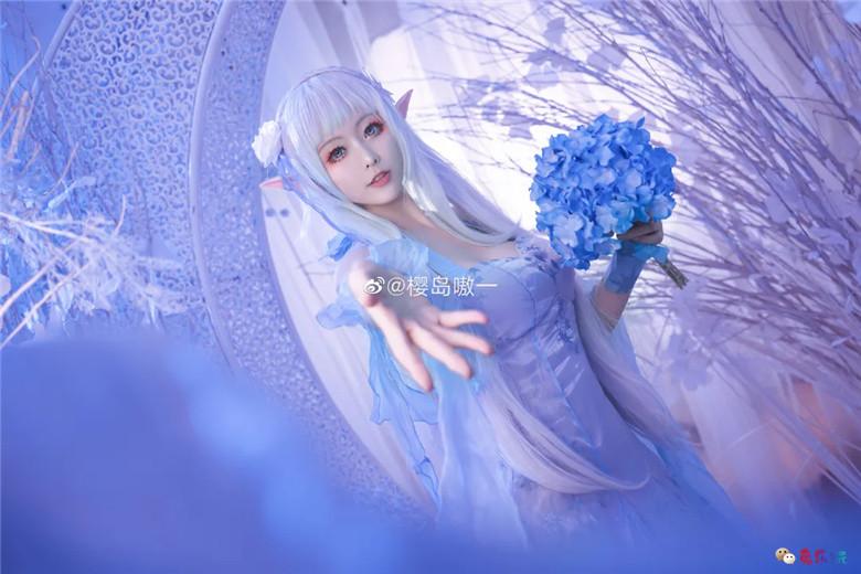 樱岛嗷一丨《Re:从零开始的异世界生活》爱蜜莉雅