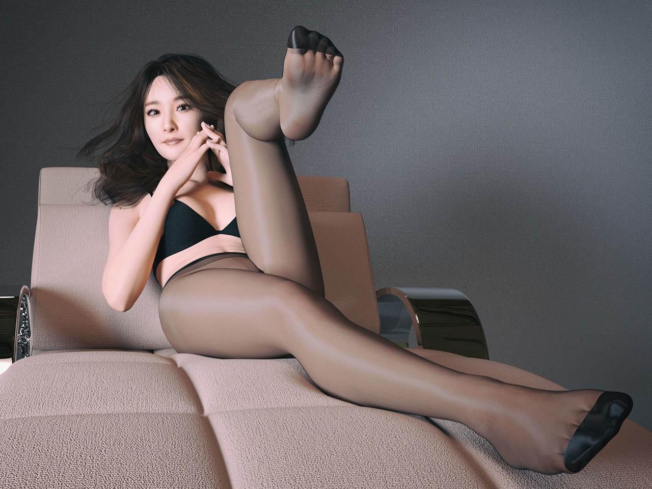 女明星杨幂性感3D模型下载